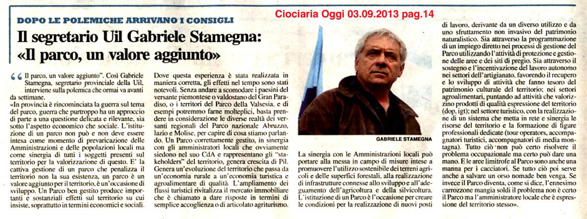 2013.09.03 Ciociaria Oggi
