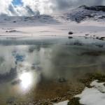 Campo Catino, Laghetto stagionale di origine carsica. Vedi articolo di Geomorfologia e Idrologia.