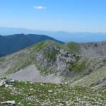 Dal Monte del Passeggio, creste verso M. Fragara