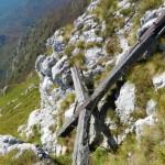 Vecchia Croce e precipizio Rotonaria