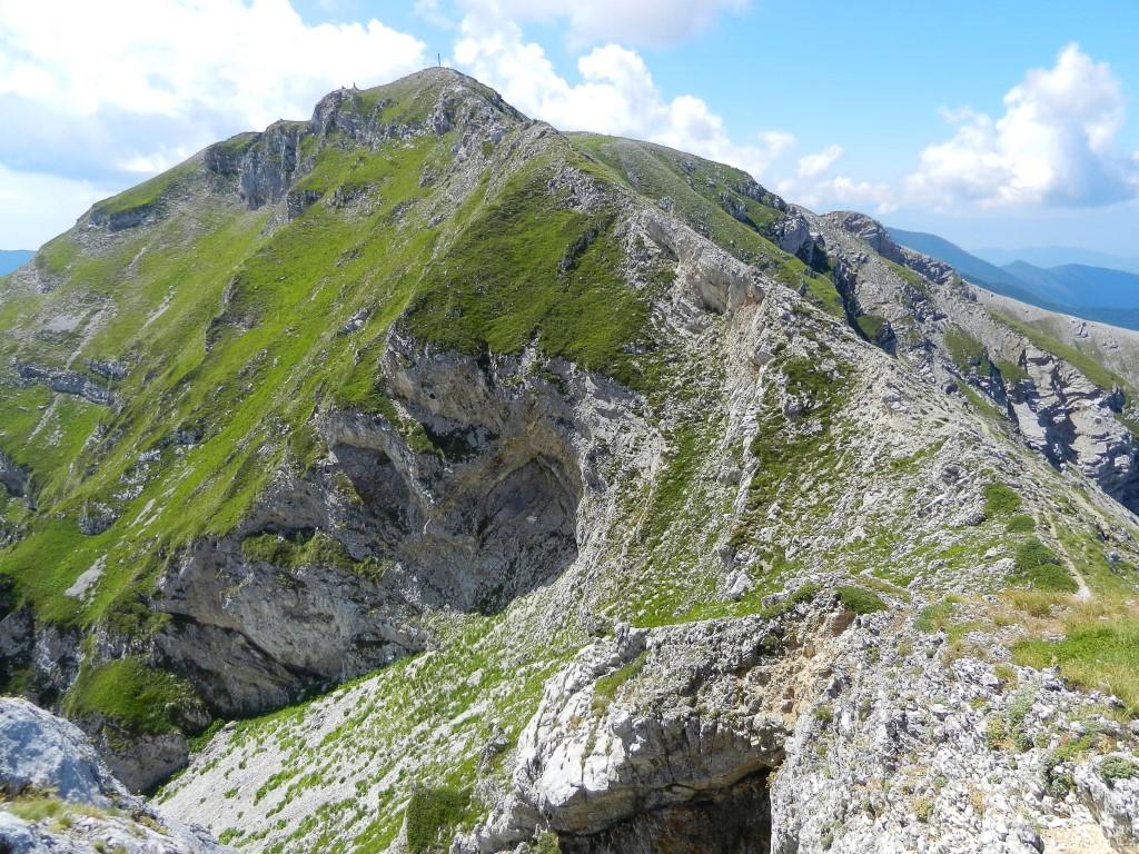 Visuale verso la Vetta di Monte Viglio