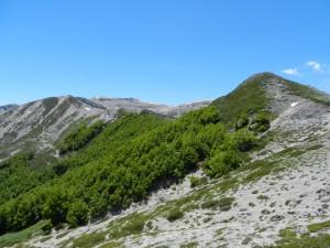 Creste Erniche viste da Monte Crepacuore